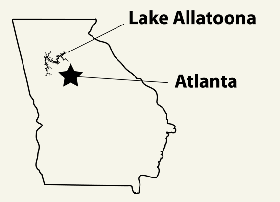 Allatoona MAP location2
